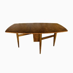 Mid-Century Scandinavian-Style Teak Drop-Leaf Dining Table from Greaves & Thomas, 1960s