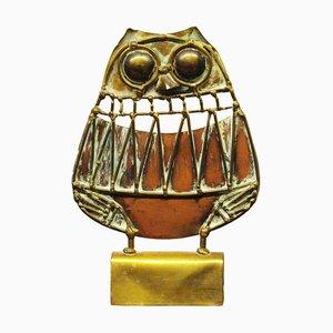 Brutalist Owl Sculpture by Jarc, 1970s