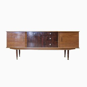 Vintage English Cabinet and Sideboard, 1950s