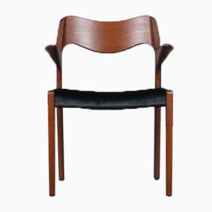 Teak Model No. 55 Chair by Niels O. Moller for J.L Møller