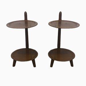 Vintage Danish Side Tables from Edmund Jørgensen, 1950s, Set of 2