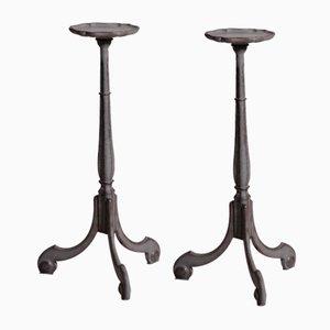 Swedish Pedestals, 19th Century, Set of 2