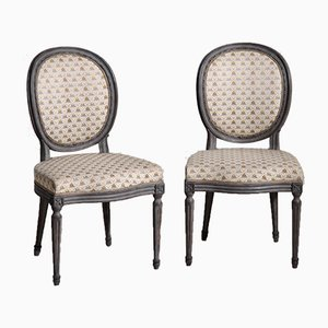 Gustavian Chairs, Set of 12