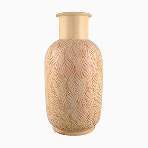 Large Vase in Glazed Ceramics, 1930s