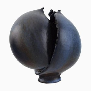 Shaped Unique Vase by Francis Milici for Atelier Madoura