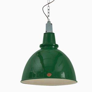 Large Green Thorlux Industrial Pendant Light
