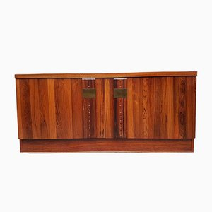 Mid-Century Rosewood Media Unit Compact Sideboard by Nils Jonsson Troeds