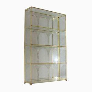 Glass Shelf Cabinet, 1970s