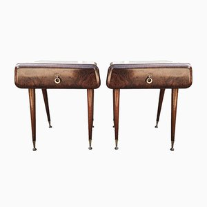 Bedside Tables by Paolo Buffa, Italy, 1960s, Set of 2
