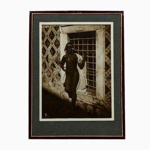Original Photograph of Nude Black Woman, 1920s