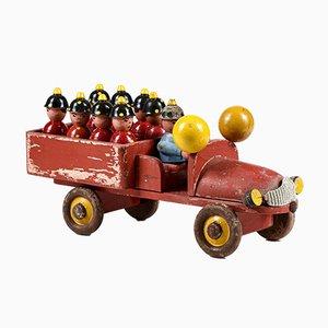 Fire Truck Toy from Guram Matelica, 1940s