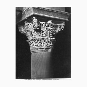 Unknown, Capitello Ravennatico, Vintage Photo Detail, Early 20th Century