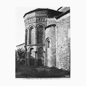 S. Fosca's Cathedral of Torcello, Vintage Photograph, Early 20th Century