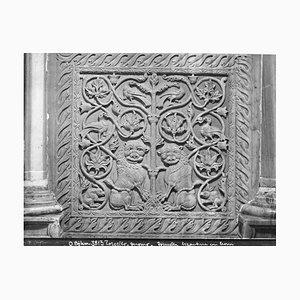 Byzantine Tile, Original Photograph, Early 20th Century