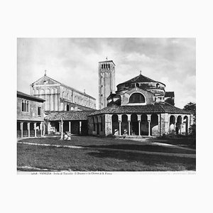 S. Fosca's Cathedral of Torcello, Original Photograph, Early 20th Century