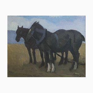 Henry Meylan, Draft Horses, 1945