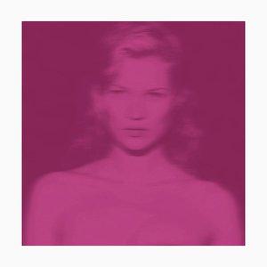 Kate Cerise by Batik, Kate Moss Pop Art, 2020
