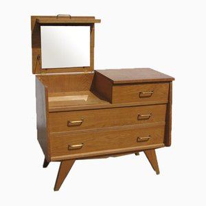 Vintage Oak Chest of Drawers, 1950s-1960s