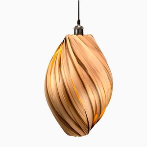 Ardere Satin Walnut Pendant Lamp by Gofurnit