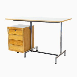 Italian Style Formica and Maple Desk, 1960s