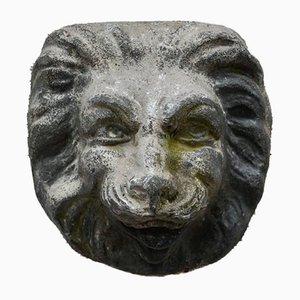 Cast Lead Lion's Mask, 18th Century