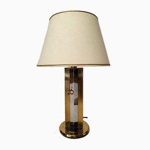 Italian Metal Table Lamp, 1970s