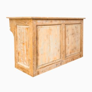 Antique Wooden Counter