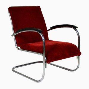 Dutch Tubular Easy Chair by Paul Schuitema for Fana, 1930s