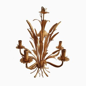 Sheaf of Wheat Chandelier by Maison Charles