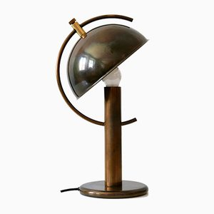Mid-Century Modern Brass Table Lamp by Florian Schulz, Germany, 1970s