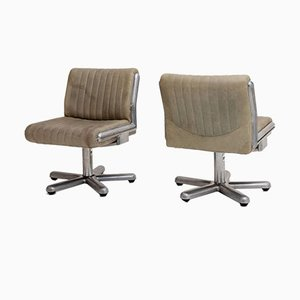 Swivel Chairs by Giuseppe Rossi di Albizzate, Italy, Mid-20th Century, Set of 2