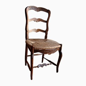 Provencal Oak Chairs, Set of 6