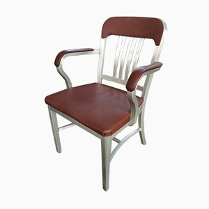 Aluminum Armchair from GoodForm / General Fireproofing Company, Youngstown, Ohio, USA