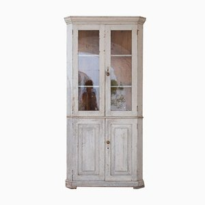 Spruce Corner Cabinet, Italy, Early 1900s