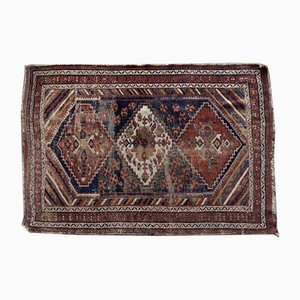 Antique Middle Eastern Hand-Woven Shiraz Rug, 1890s