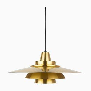 Danish Ceiling Lamp by David Mogensen for Superlight, 1970s
