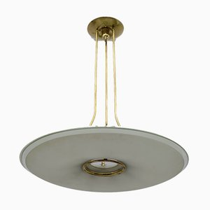 Chandelier by Max Ingrand for Fontana Arte, Italy, 1950s