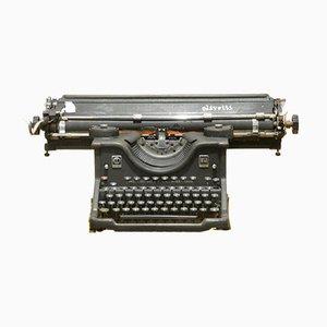 Olivetti M40 MKII Typewriter with Cart, Italy, 1938