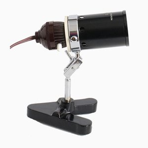 Vintage Microscope Lamp from Glanz, 1950s