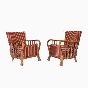 Armchairs by Vittorio Valabrega, 1930s, Set of 2