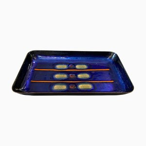 Modernist Copper Tray by Laurana, 1960s