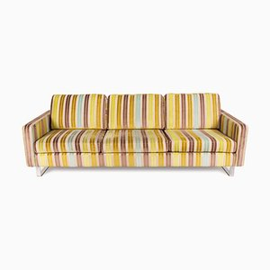 Three-Seater Green, Blue and Brown Cream Couch from Cor Conseta