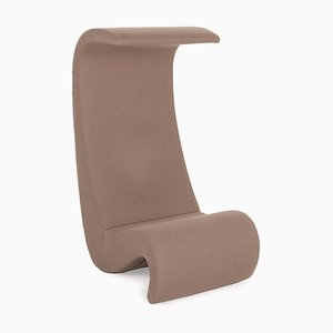 Brown Fabric Armchair by Verner Panton for Vitra