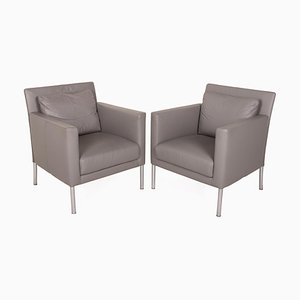 Foster 500 Leather Armchair Set from Walter Knoll / Wilhelm Knoll, Set of 2
