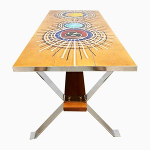 Vintage Tile Coffee Table by Juliette Belarti