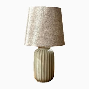 Art Deco Ceramic Table Lamp from Upsala-Ekeby, 1940s