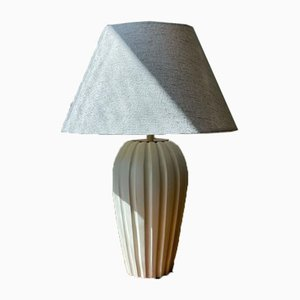 Stoneware Table Lamp by Vicke Lindstrand for Upsala-Ekeby, 1940s