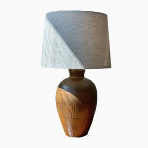 Large Table Lamp by Gunnar Nylund for Rörstrand, 1940s
