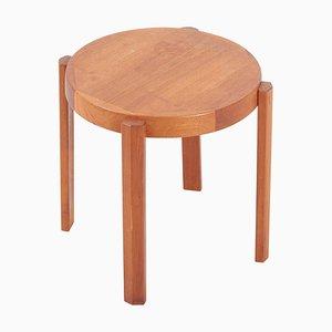Scandinavian Danish Teak Side Table from Møbelfabrikken Toften