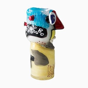 Murano Art Glass Head Sculpture by Christoph Kiefhaber